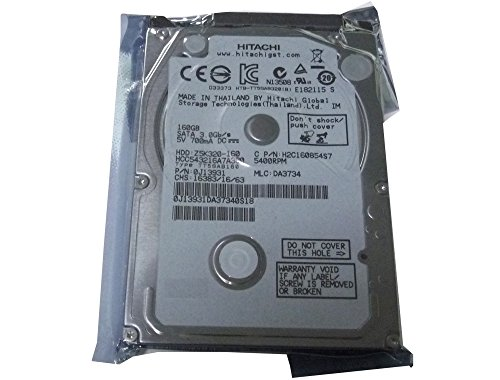 Hitachi Disco duro 160GB 5400RPM 8MB Cache SATA 3.0Gb/s 2.5 pulgadas (para PS3 Fat, PS3 Slim, PS3 Super Slim)