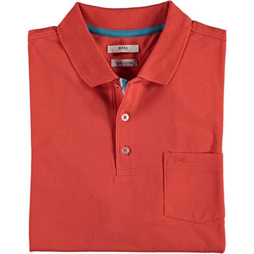 BRAX Polo-Shirt Pino Koralle, Gr.M