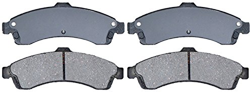 ACDelco Silver 14D882CH Ceramic Front Disc Brake Pad Set with Hardware