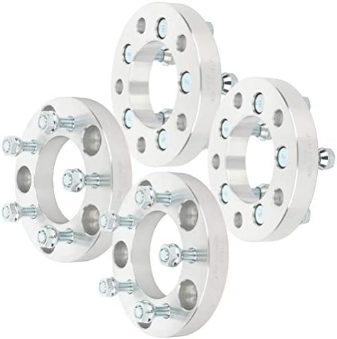 SCITOO 4X 25mm 1 inch 5x5 to 5x4.5 Wheel Spacer adapters 5x5 or 5x127mm to 5x4.5 or 5x114.3mm Wheel Spacers
