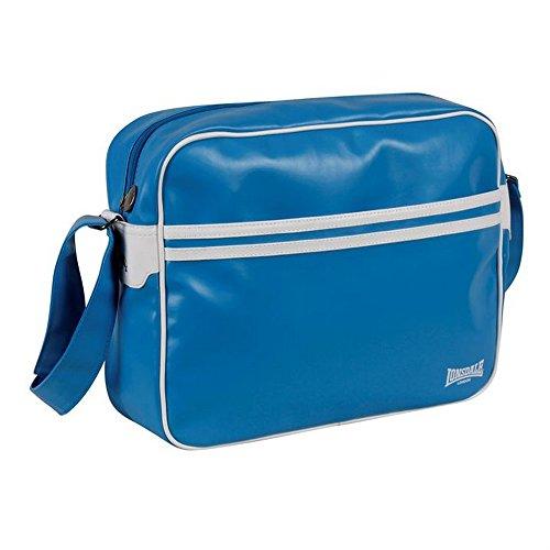 Lonsdale Flight Unisex 2S Handtasche-Tasche, gestreift, verstellbarer Schulterriemen, Blau - blau - Größe: Einheitsgröße
