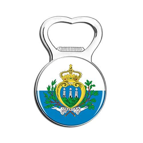 Weekino San Marino Flagge Kühlschrankmagnet Bier Flaschenöffner Stadt Reise Souvenir Sammlung Starker Kühlschrankaufkleber