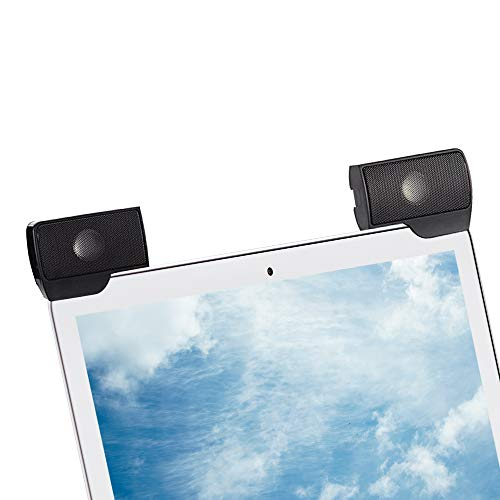 SUPVIN Portable Mini Computer Clip-On Speaker