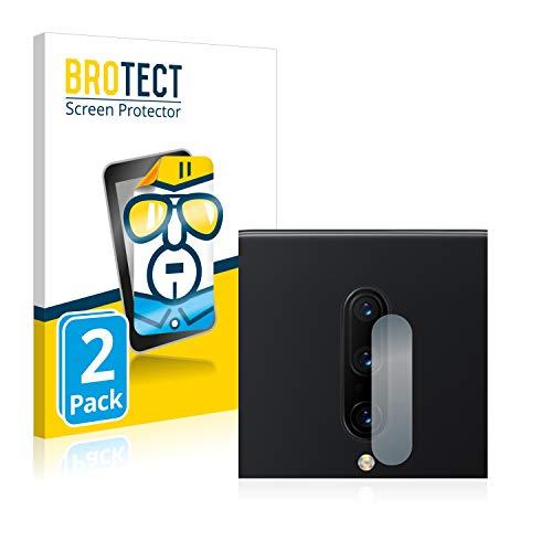 BROTECT Schutzfolie kompatibel mit OnePlus 7 Pro (NUR Kamera) (2 Stück) klare Bildschirmschutz-Folie