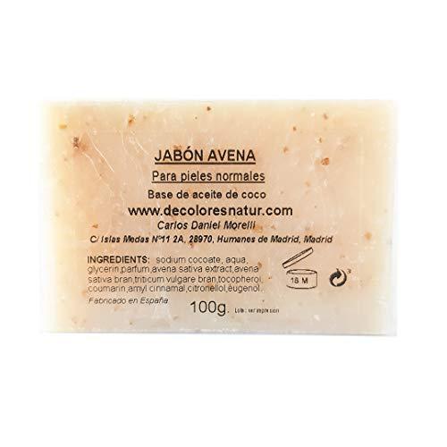 Jabón de Avena. Jabones naturales.