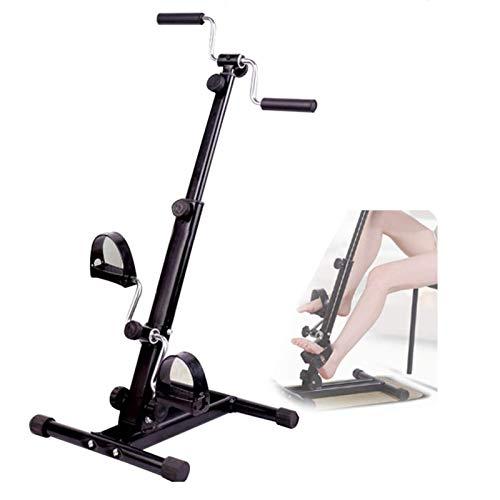 ZXFF Máquina De Rehabilitación De Bicicletas De Fitness, Máquina De Ejercicio De Doble Pedal para Brazos Y Piernas De Bicicleta, Ahorro De Espacio Equipo De Aptitud Interior
