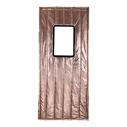 EVEN Cortina de la Puerta del hogar del hogar, Resistente al Sonido, Resistente al Sonido, Impermeable, Resistente al Calor, Material de la PU Cortina de partición Cortavientos fría