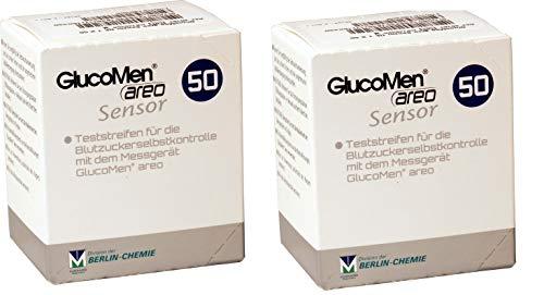Glucomen areo teststreifen 2x50