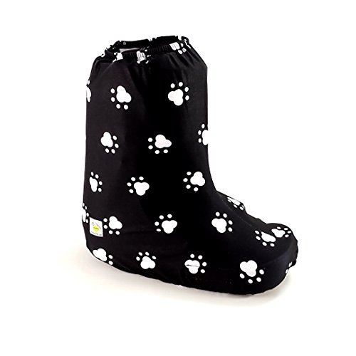 My Recovers Walking Boot Cover for Fracture Boot, Fashion Cover in Dog Paw, Short Boot, Made in USA, Orthopedic Products Accessories (Medium)