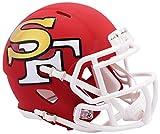 San Francisco 49ers Riddell NFL AMP - Casco de fútbol americano (tamaño grande)