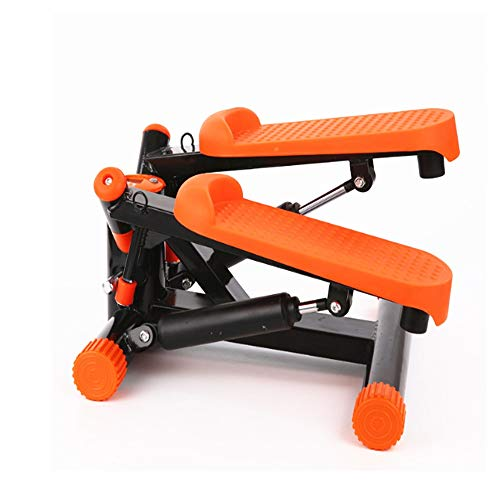 38 x 30 x 16 cm de Acero HOMCOM Mini Stepper Profesional para Entrenamiento Fitness en casa con Cuerdas el/ásticas