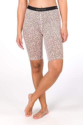 super. Natural W Base 175 Printed Femme en Laine mérinos Tight M Rosa/Blush Stars