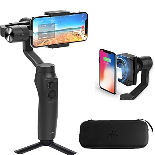 Moza Mini-MI 3-Axis Smartphone Wireless Charging Gimbal Stabilizer