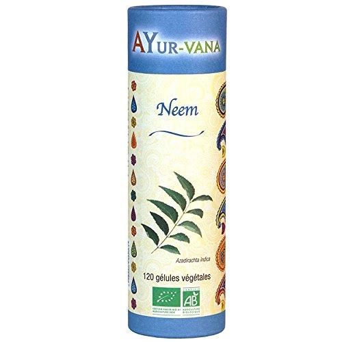 AYur-vana Neem Bio 120 Gélules