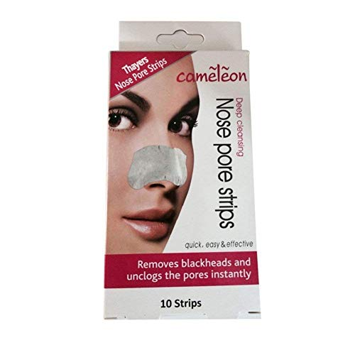 Cameleon Nose Pore And Blackhead Removel Strips, Pack Of 10
