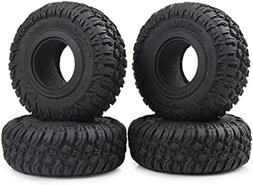 LSB-SHOWER 4PCS 118MM 1.9Inch Rubber Tires Portland Mall Rocks Wheel Tyres Long Beach Mall for