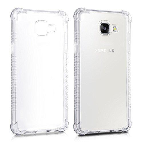 REY Funda Anti-Shock Gel Transparente para Samsung Galaxy A5 2016 / Galaxy...