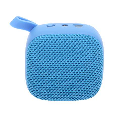 JVC SPSA1BTA - Altavoz inalámbrico portátil con Sonido Envolvente, Bluetooth 5.0, 7 Horas de duración de la batería, Color Azul