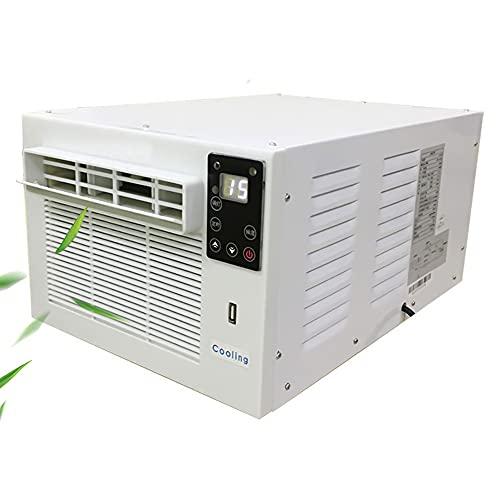 Condizionatore d'aria portatile 3 IN 1 da 360 W, 5~30 ℃ Condizionatore d'aria per finestre con umidificatore per riscaldamento, CE/FCC Sistema di condizionamento per interni