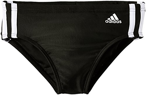 adidas Jungen Badehose Infinitex 3 Stripes, Black/White, 152, S22925, 152, 152, 152