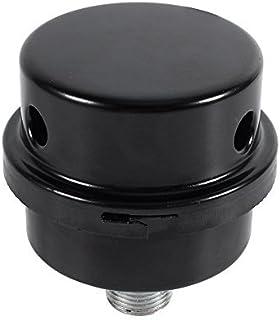 3/8'Luftschalldämpfer Filter, Gewinde Anschluss Schalldämpfer Filter Metalleinlass Geräuschfilter für ölfreien Luftkompressor
