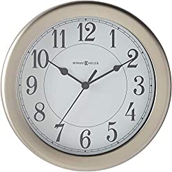 Howard Miller Aries Wall Clock 625-283 – Modern & Round with Quartz Movement
