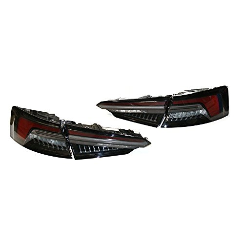 Original Audi A5 S5 (B9 F5) LED Heckleuchten Rücklichter abgedunkelt schwarz Exterieur Tuning Schlussleuchten 8W6052100