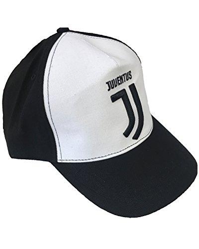 cappello juventus bambino Cappello Juventus Nuovo Logo Jacquard 100% Cotone