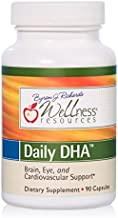 Daily DHA - Highest Potency & Purity DHA Fish Oil in TG Form (90 Capsules)