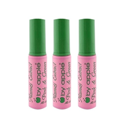 apple Super Lash Mascara Pink & Green,3PCS x 45oz