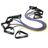 SPRI Xertube Resistance Bands Exercise Cords, Green, Light