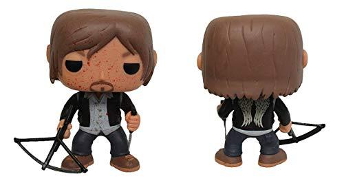 Funko Pop! Figura de Vinilo The Walking Dead: versión sangrienta del Motero Daryl