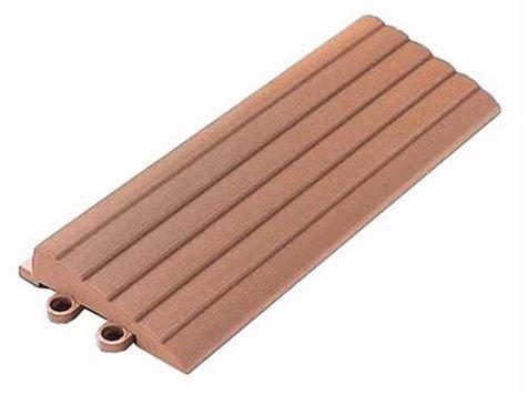 TOTO 屋外用ジョイントタイル バーセア用 スロープ材(平) ナッツブラウン AP004CJ