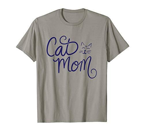 Cat Mom art crazy cat lady gifts fun T-Shirt