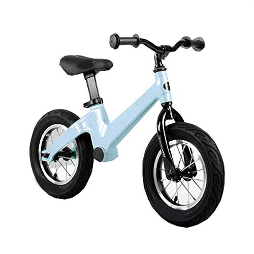 ZLXLX Training Auto Balance Bike Carbon Steel Frame Training Bike, Geen Pedaal Fiets met 12