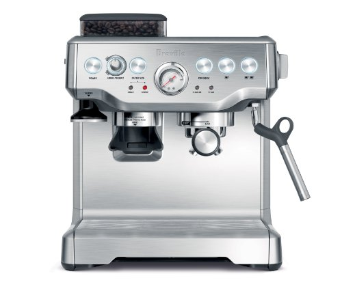 Breville BES860XL Remanufactured Barista Express Programmable Espresso Machine with Grinder