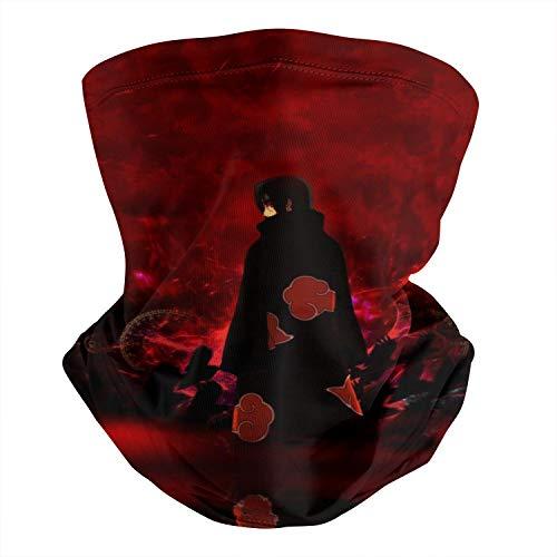 Naruto-Art-Itachi-Uchiha- Multifunctional Bandana Face Mask Face Cover Headwrap for Motorcycle Sport