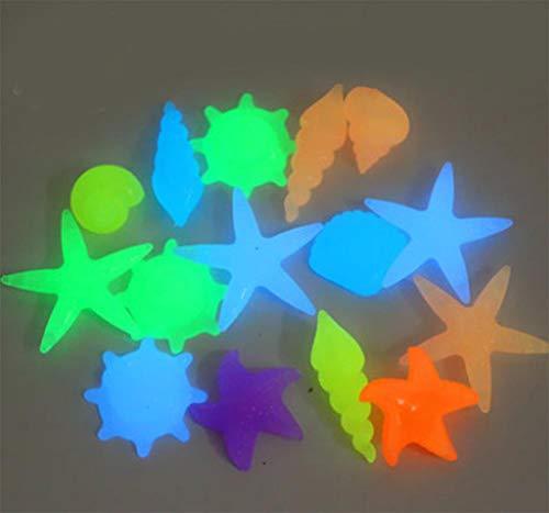 ZLDFAN Fluorit kann buntes Licht abgeben, um das Aquarium, den Blumentopf, den Garten usw. zu dekorieren.-Leuchtender Ozean 90 Yuan