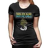 SPower.Tee Women Third Eye Blind Tour 2019 Casual T-Shirt XL Black with Women's Short Sleeve