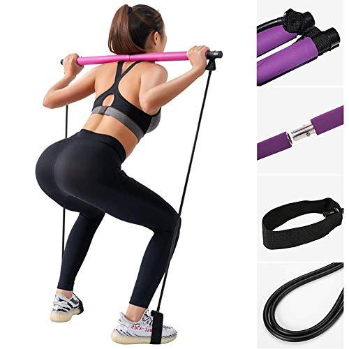 Lancei Body Trainer Fitnessgerät Long Resistance Band Stabfitness Pilates Stabfitness Bänder für Bodybuilding Workout