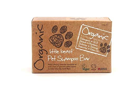 Little Beast Organic Pet Grooming Shampoo Bar – Natural & Vegan | Dog Puppy Soap (110g)