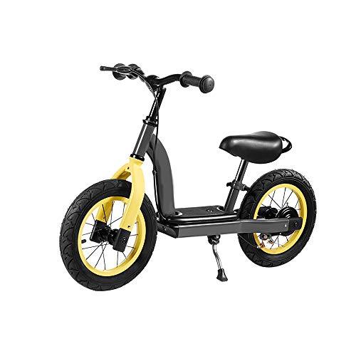 Ausgeglichenes Fahrradtraining Laufrad ohne Pedal Laufbalance Fahrradbremse Verstellbarer Sitz, Kinder im Alter von 18 Monaten bis 3,5 Jahren