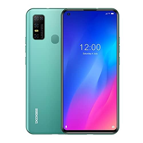 Pretty Store Smartphone Android 4G, Batería De 4500 MAh, Pantalla Completa De 6,55 Pulgadas, 128 GB / 4 GB De RAM, Doble SIM, Android 10 (Color : Bronze)