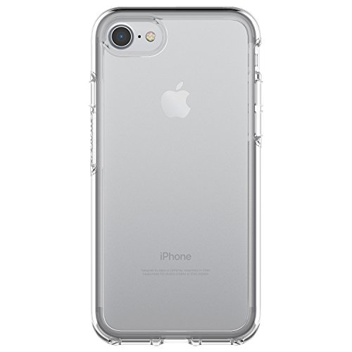 OtterBox SYMMETRY CLEAR SERIES Case for iPhone SE (2nd gen - 2020) and iPhone 8/7 (NOT PLUS) - Retail Packaging - CLEAR
