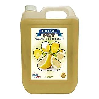 Trade Chemicals Fresh Pet Kennel/Cattery Cleaner & Disinfectant - Kills 99.99% Bacteria - Eliminates Odour (Lemon Fresh) 18