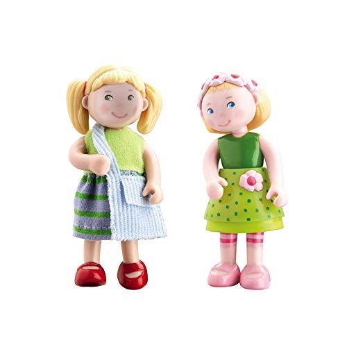 HABA 300513 - Little Friends Biegepuppe Mali (Mali + Feli, 2 Puppen)