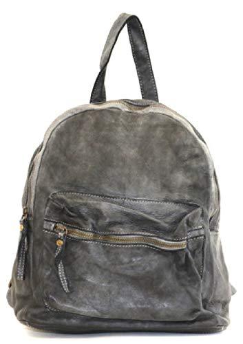 BZNA Bag Ben schwarz Backpacker Designer Rucksack Damenhandtasche Schultertasche Leder Nappa ItalyNeu