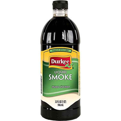 Durkee, Liquid Smoke for Cooking, MSG-Free and Gluten-Free, 946 Grams