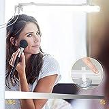 Kohree LED Spiegelleuchte USB Dimmbar Schminklict Make-up Licht Spiegellampe Kosmetiklampe...