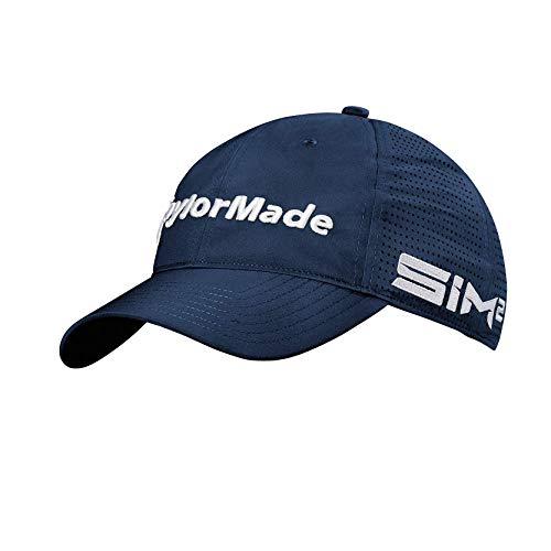 Taylor Made Gorra de Golf Litetech Tour para Hombre, Hombre, Gorra de Golf, Azul Marino, Talla única